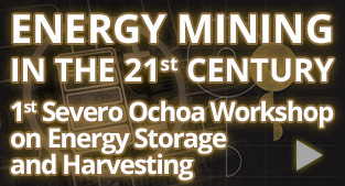 First Severo Ochoa Workshop on Energy Storage and Harvesting