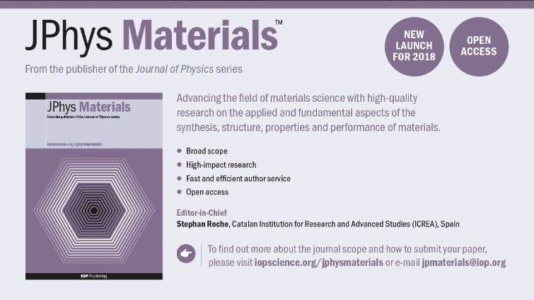 The IOP Home Of Respected Journal Physics Series Has Launched Three New High Impact Open Access Journals In Recognition Increasingly