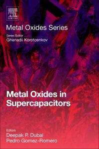New ICN2 co-edited book: Metal Oxides in Supercapacitors - ICN2