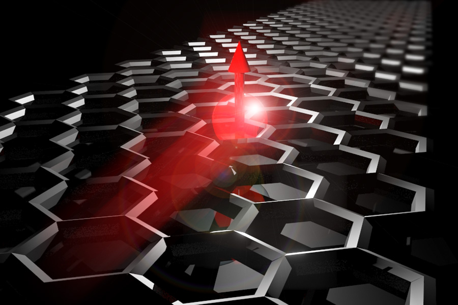Thermal gradients shown to enhance spin transport in graphene - ICN2